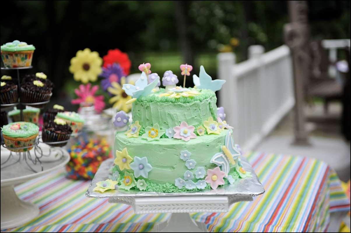 Butterfly flower garden cake gray barn baking han4240 izmirmasajfo