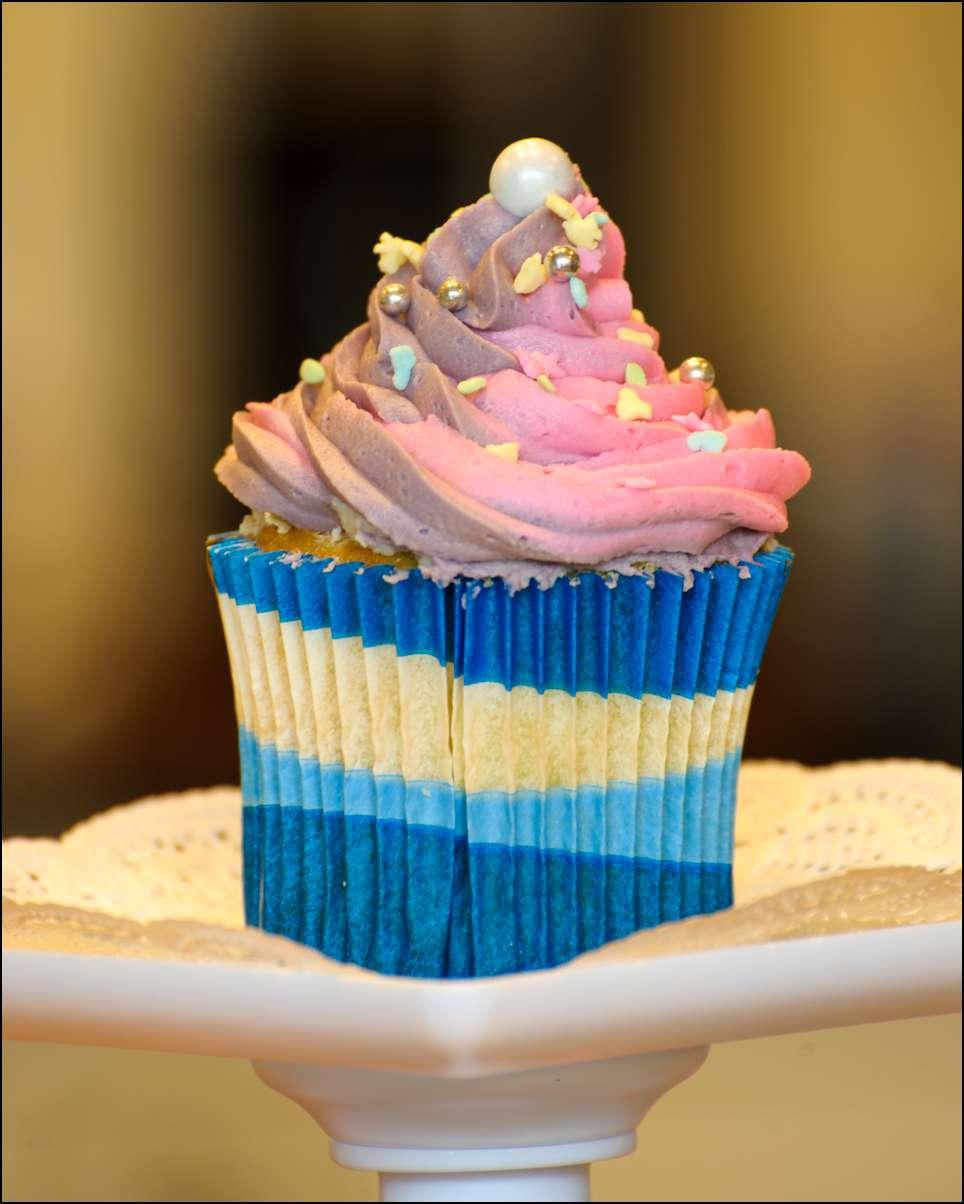 Spring Birthday Party Cupcakes