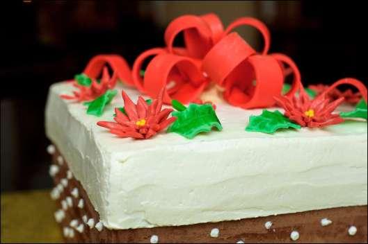 Christmas Box Cake