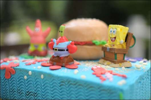 SpongeBob SquarePants Birthday Cake