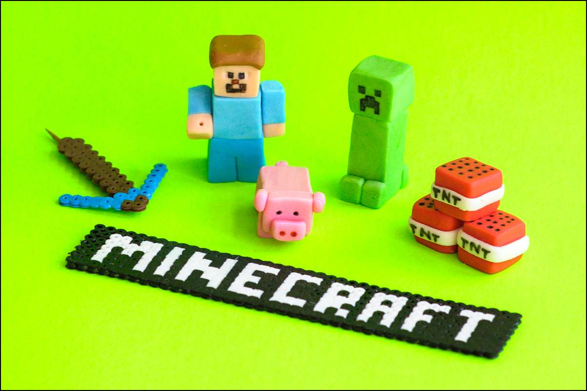 Minecraft Cake Topper Tutorial