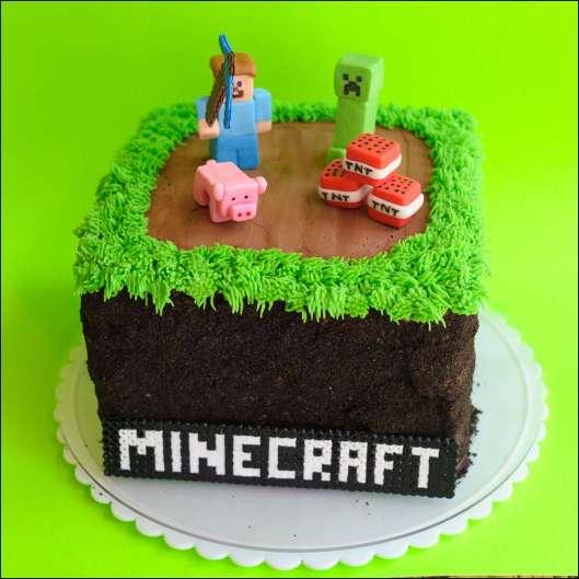 Minecraft Cake 2.0