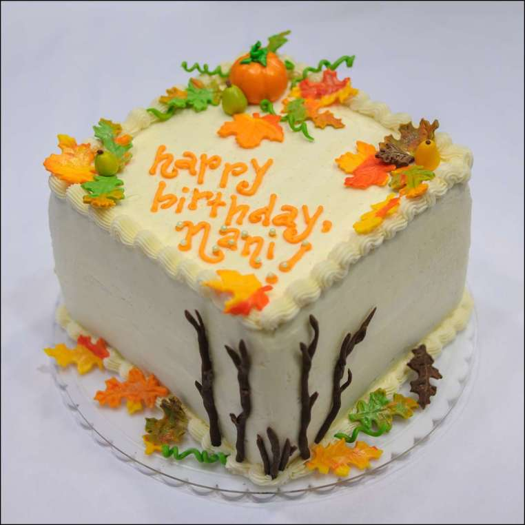 Fantastic Fall Birthday Cake 2 Gray Barn Baking Funny Birthday Cards Online Elaedamsfinfo