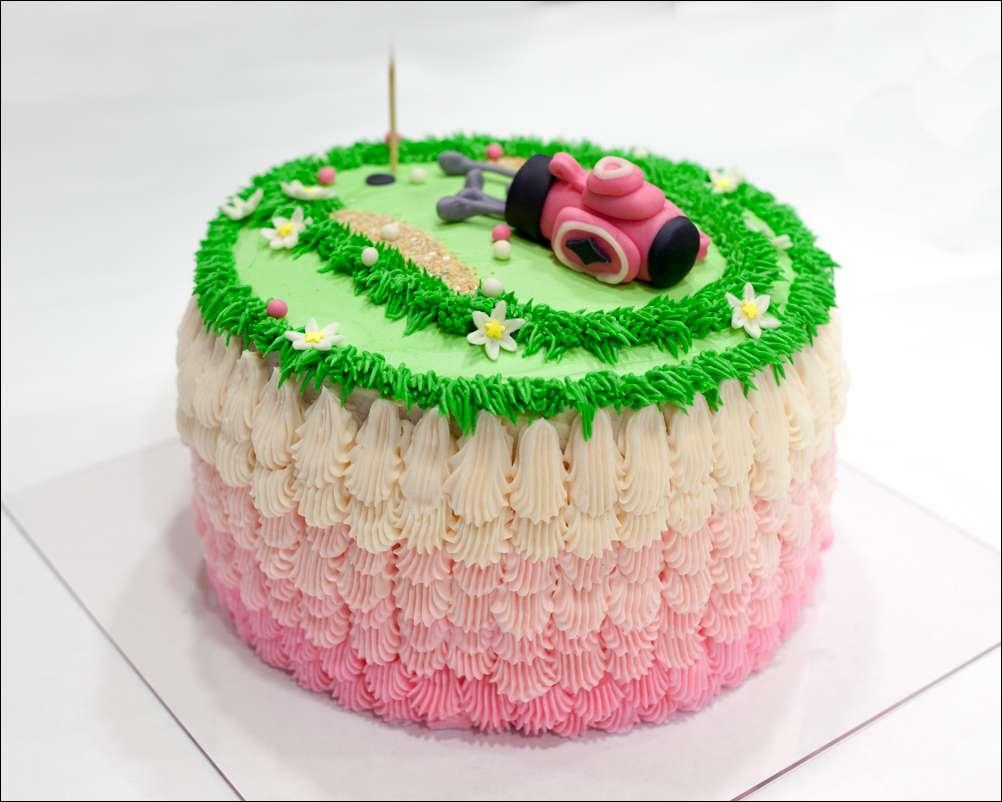 Fondant Golf Cake Design : fondant Gray Barn Baking Page 2