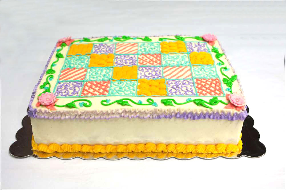 Quilting Cake Designs : quilt-inspired cake Gray Barn Baking