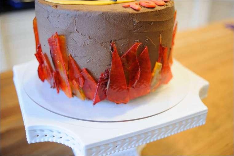 Fine Hunger Games Cake 8 Gray Barn Baking Funny Birthday Cards Online Elaedamsfinfo