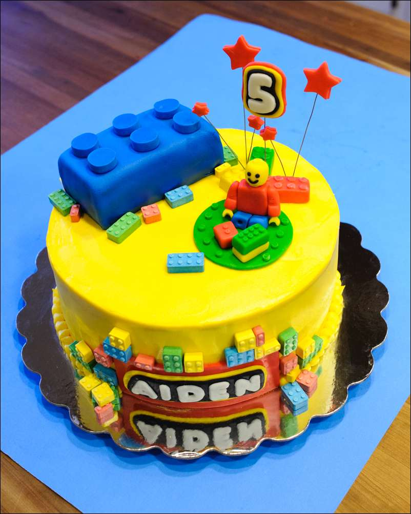 Lego Cutter For Cake