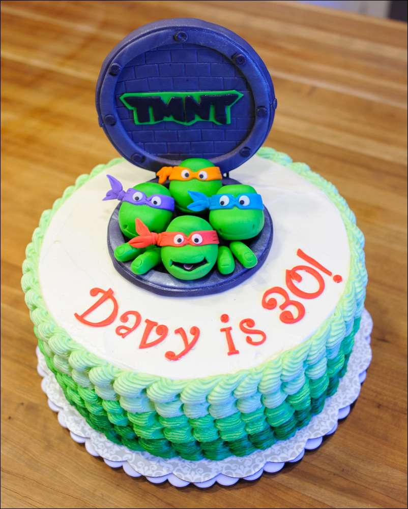 Tmnt Cake Topper Ideas