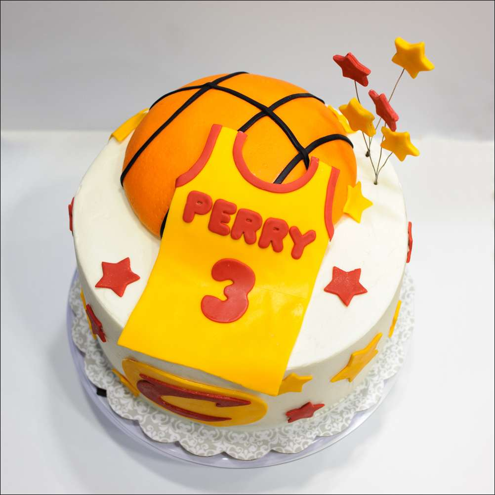 Cavaliers Basketball Birthday Cake Gray Barn Baking