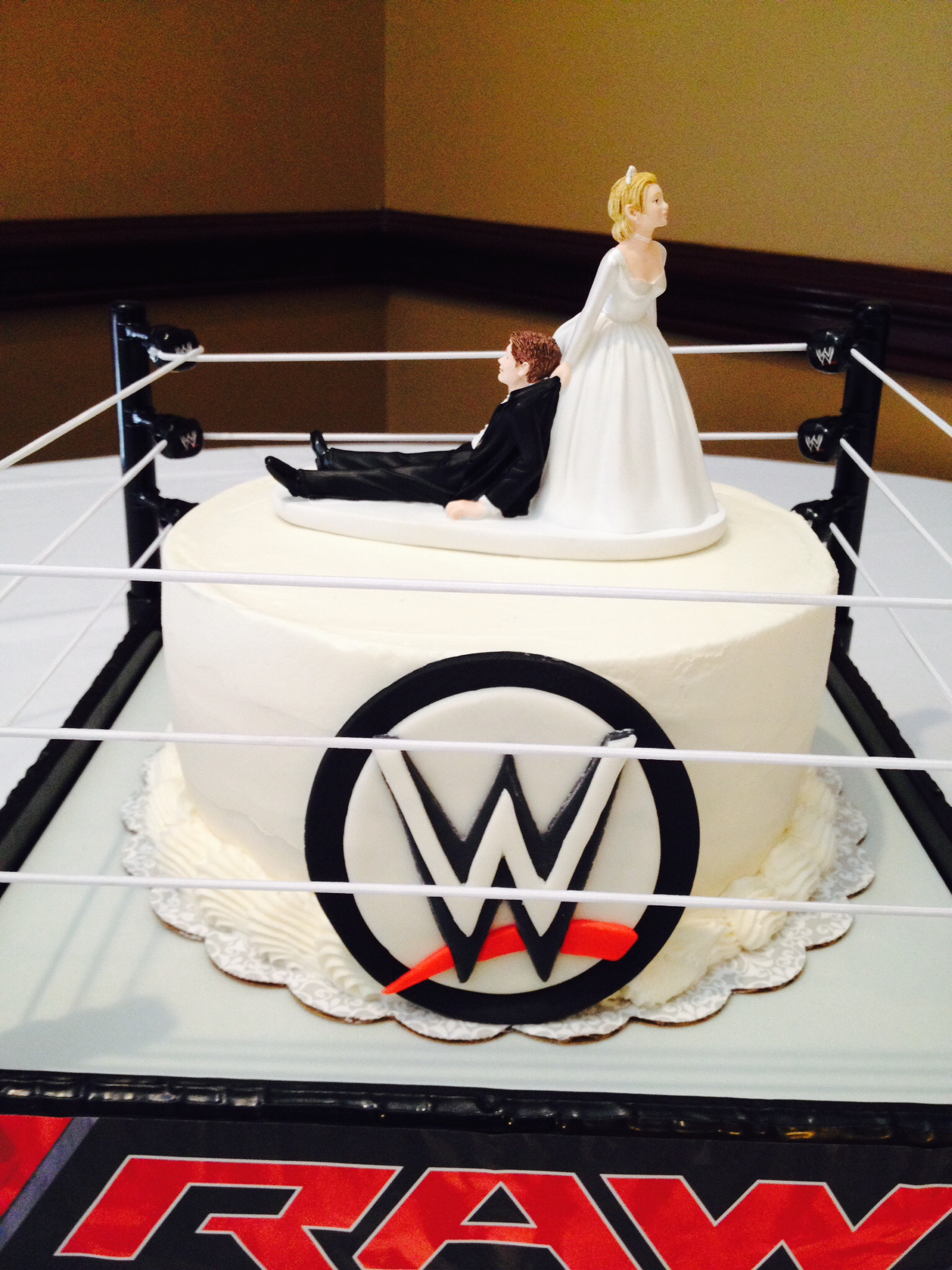 Wwe Wedding Cake
