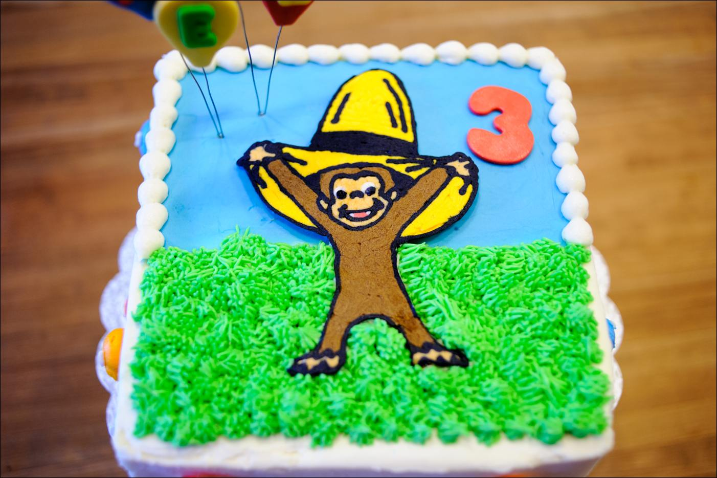 Strange Curious George Birthday Cake Gray Barn Baking Funny Birthday Cards Online Sheoxdamsfinfo