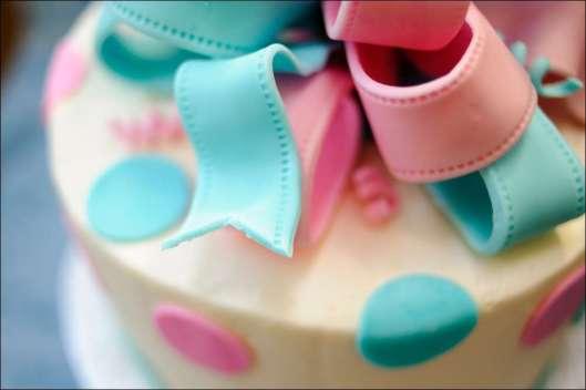ribbon-gender-reveal-cake-5