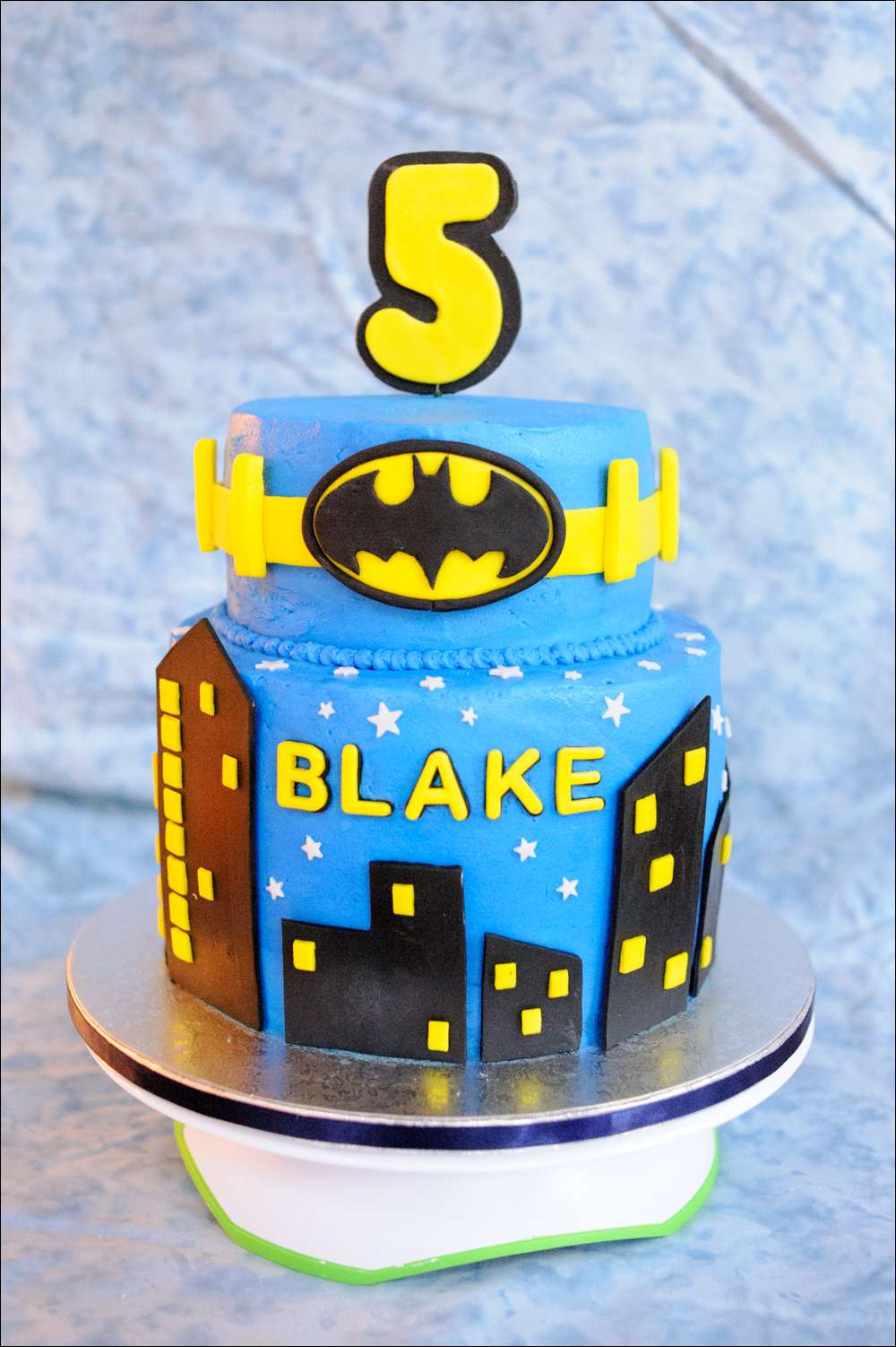 Marvelous Batman Superhero Birthday Cake Gray Barn Baking Personalised Birthday Cards Rectzonderlifede