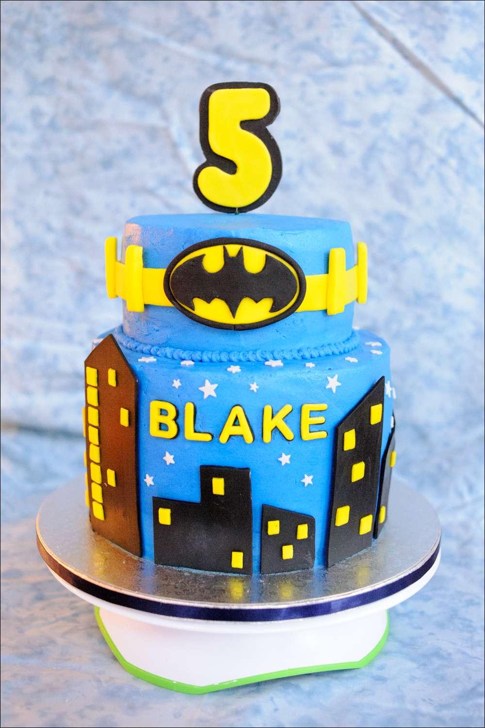 Miraculous Batman Superhero Birthday Cake Gray Barn Baking Personalised Birthday Cards Paralily Jamesorg