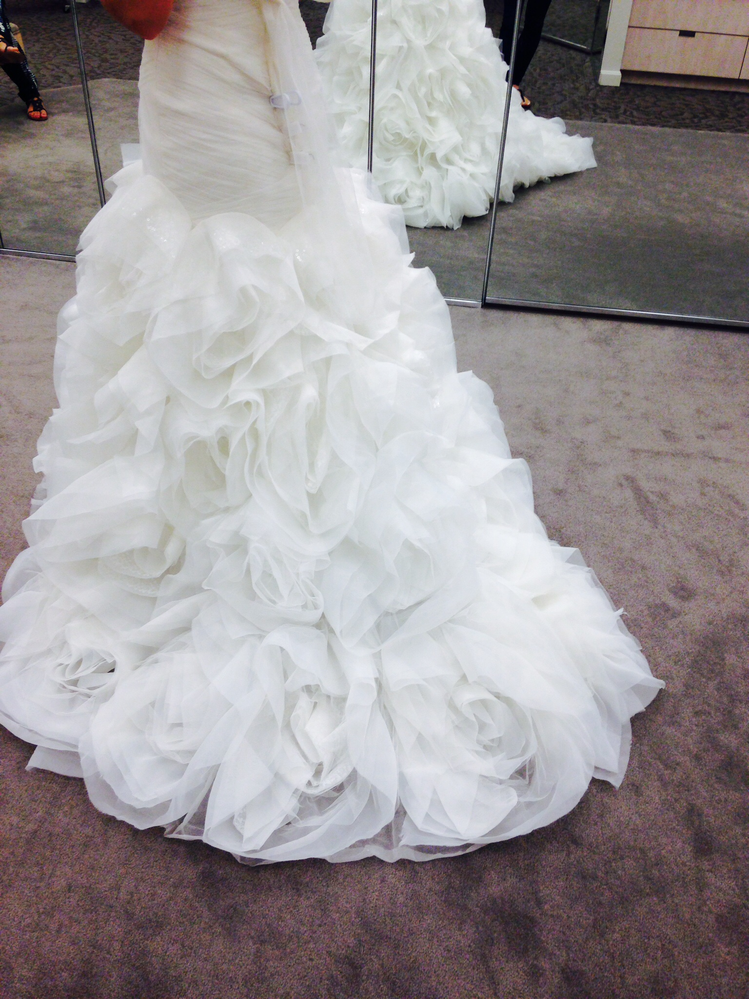 Tiered Rosette Wedding Cake | Gray Barn Baking