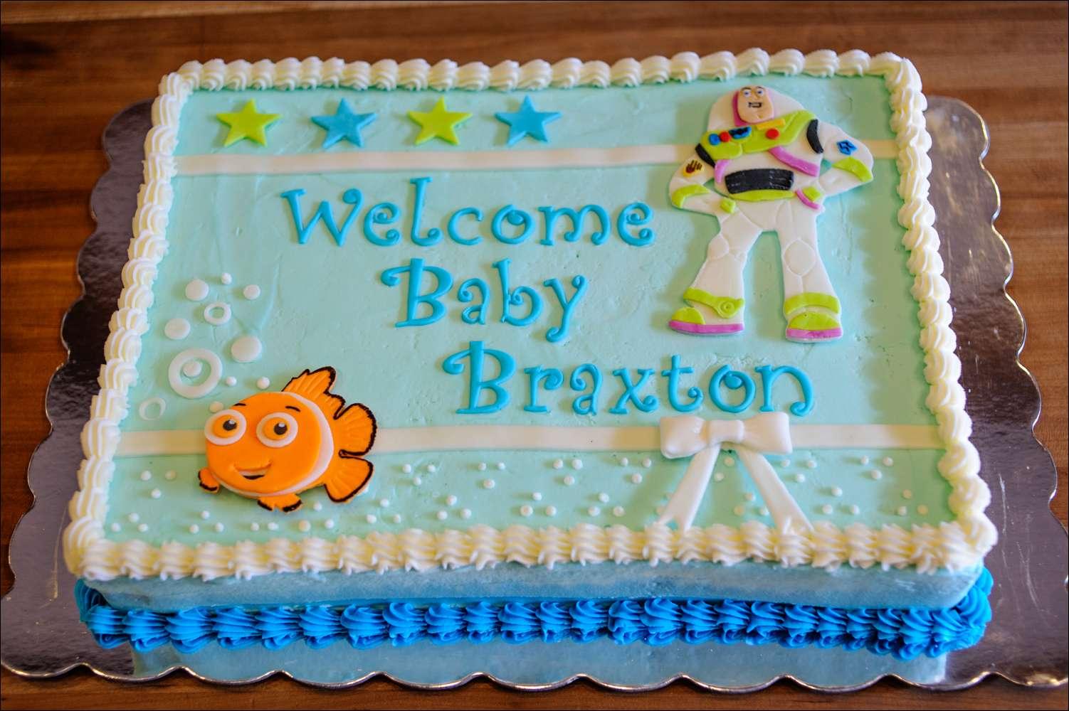 Disney Nemo Buzz Lightyear Baby Cake 1