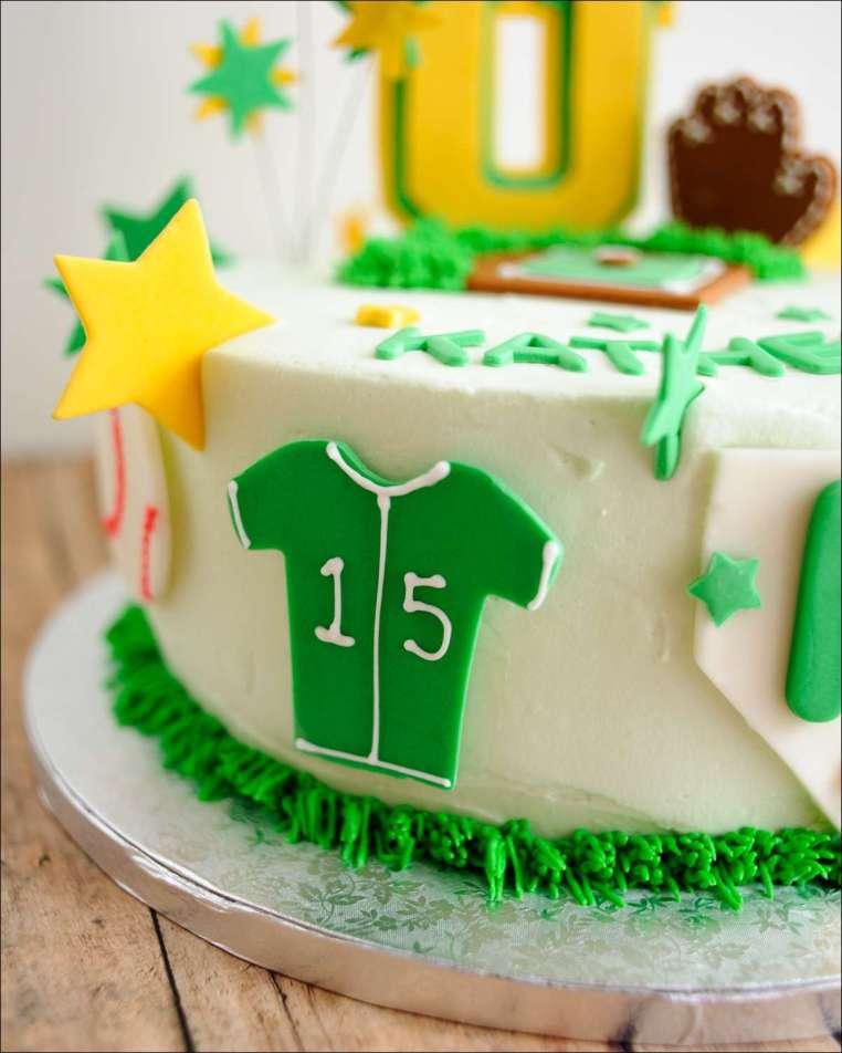 Prime Softball Birthday Cake 4 Gray Barn Baking Personalised Birthday Cards Paralily Jamesorg