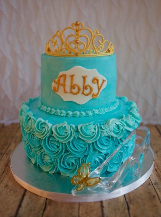 cinderella tiara cake_1