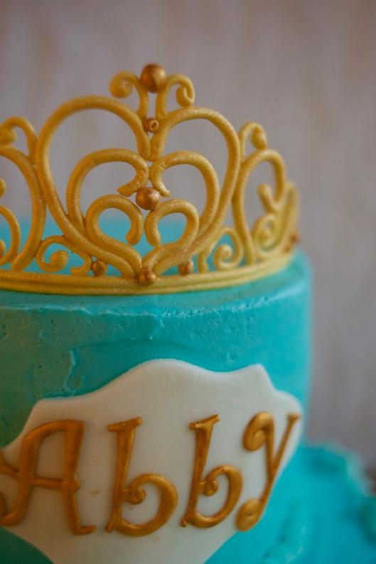 cinderella tiara cake_3