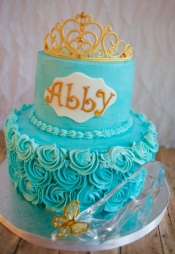 cinderella tiara cake_5