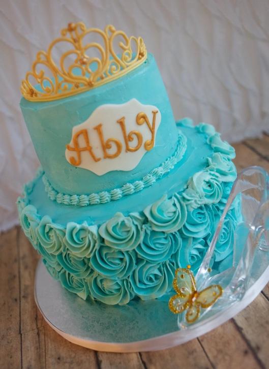 cinderella tiara cake_7