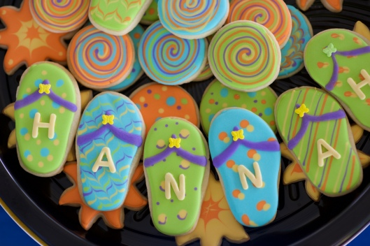 pool party cookies_3