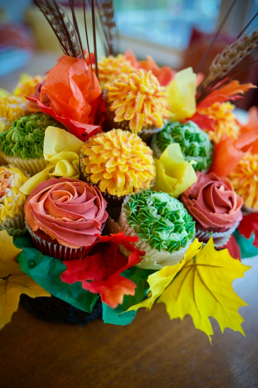fall flower basket_2