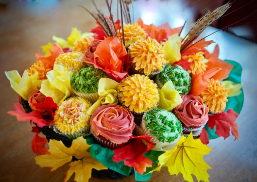 fall flower basket_4