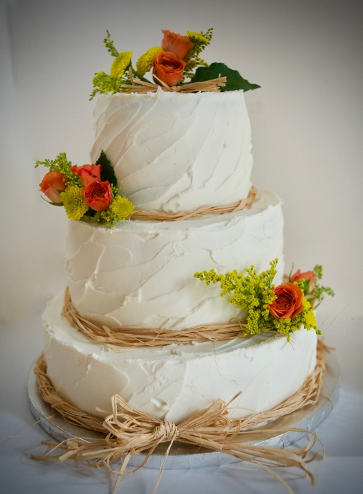 rustic fall wedding cake_5