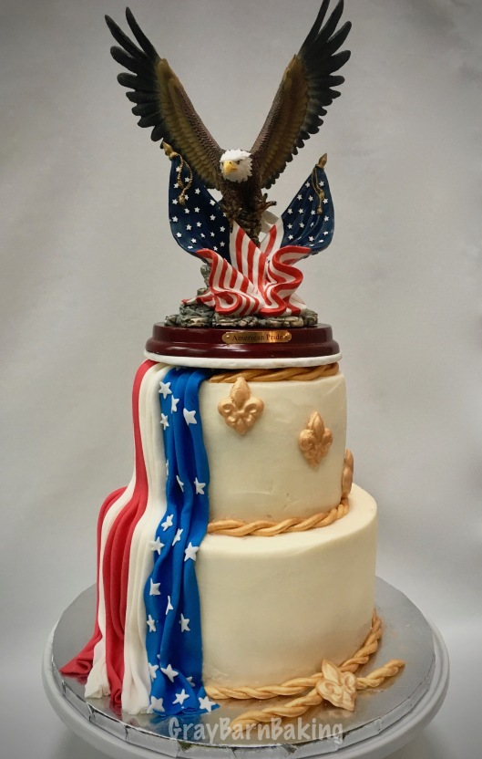 eagle scout cake cakes gray barn baking 3783