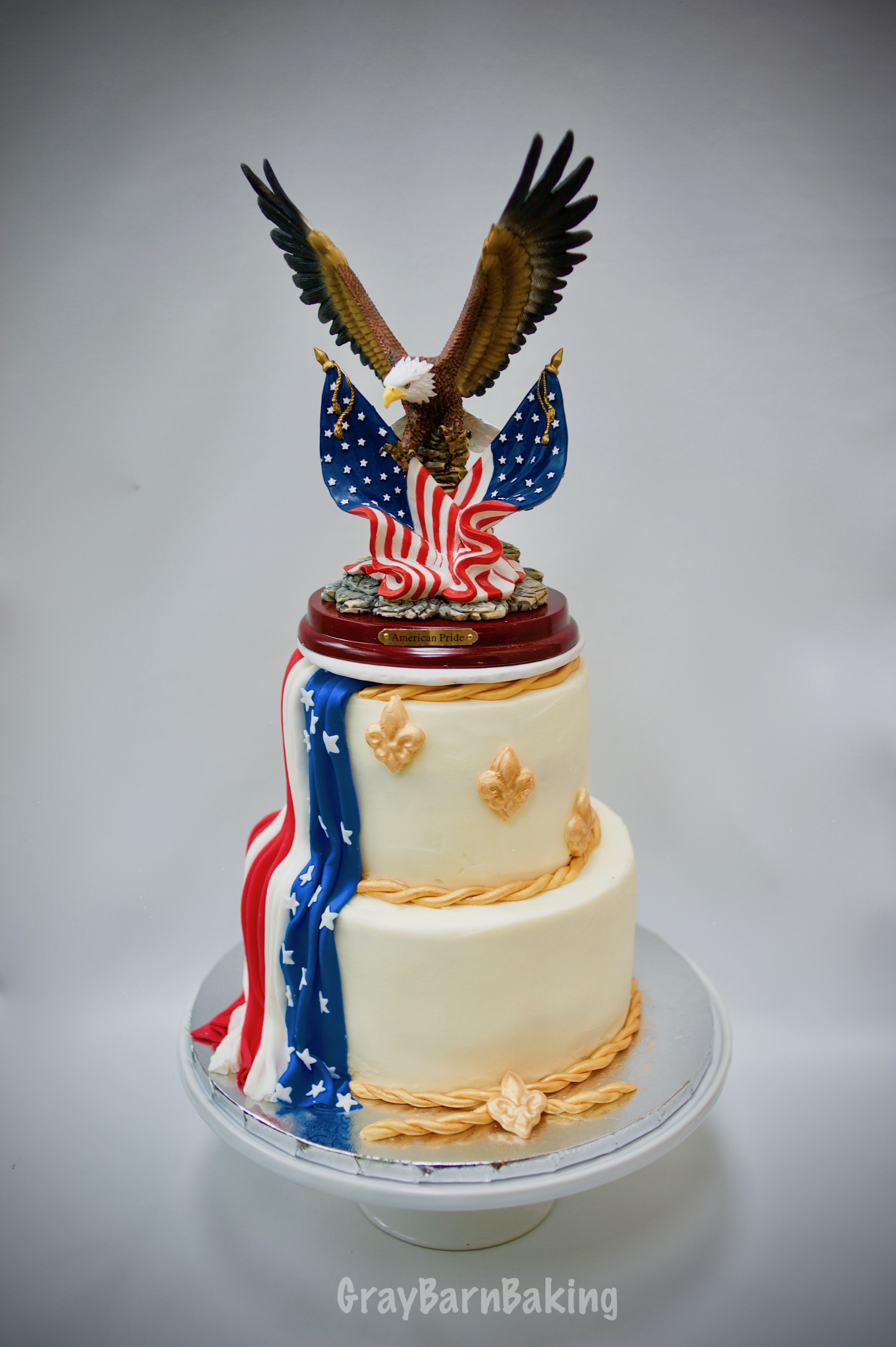 Eagle Scout Cake For J J Gray Barn Baking
