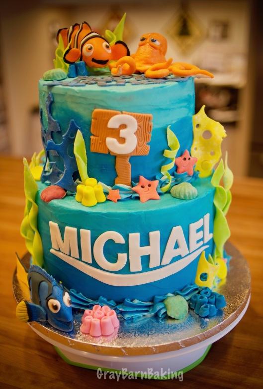 Nemo cake_5