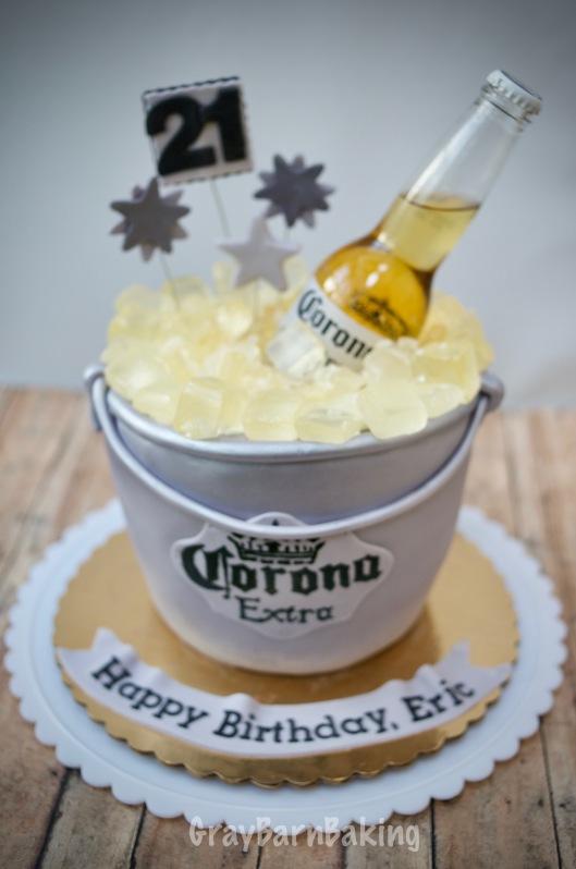 corona ice bucket cake0004