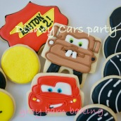 cars b-day party0000
