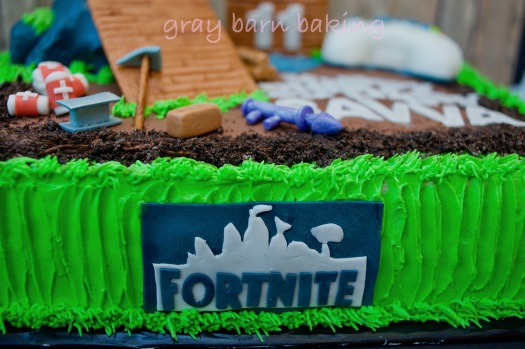 fortnite cake0010