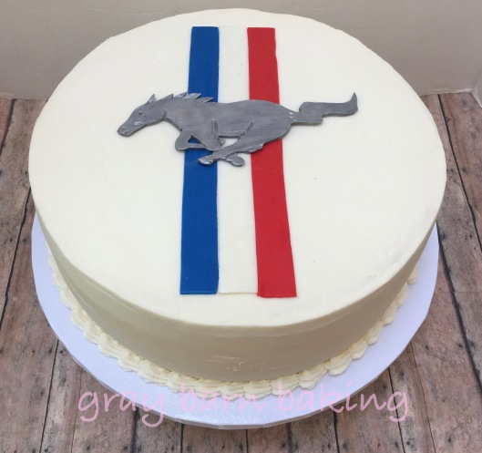 Ford Mustang cake   Gray Barn Baking