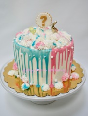 Gender reveal cake0000