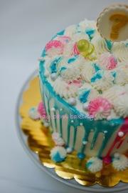 Gender reveal cake0001