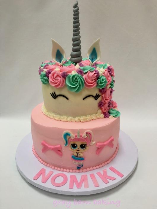 Unicorn _LOL surprise cakes0000