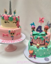 Unicorn _LOL surprise cakes0001