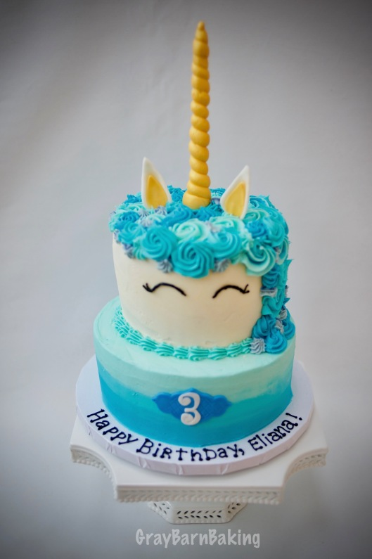 unicorn cake blue0005