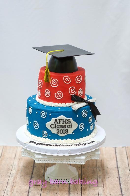 Grad Cake 20180003