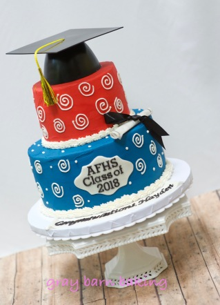 Grad Cake 20180005